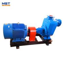 High viscous fluid self priming electric motor pumps