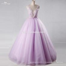 RSE711 сексуальное Сиреневое пышное платье в фиолетовый длинные платья выпускного вечера Бесплатная доставка