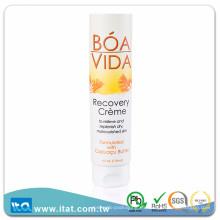 Tubo cosmético de plástico laminado libre de BPA para la piel loción tonificante