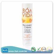 Tubo de plástico plástico laminado sem BPA para loção tonificante para a pele