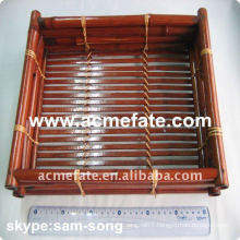 natural disposable bamboo plate