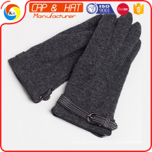 2015 Imprint Logo Magic Unisex Winter Knit Stretch Touch Screen Gloves,Screen Touch Gloves ----Top