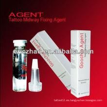 Agente de fijación permanente del tatuaje del maquillaje