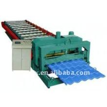 ЧПУ цветной глазурованной плитки профилегибочная машина