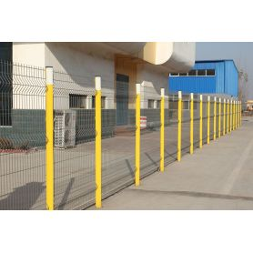 Pagar Fitting Wire Mesh 3D Perimeter Security