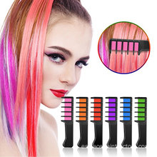 Organic washable temporary hair chalk brush for kids