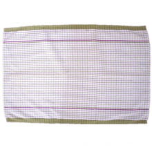 Custom Made Crossweave Woven Multi Colored Portable Plate Mat
