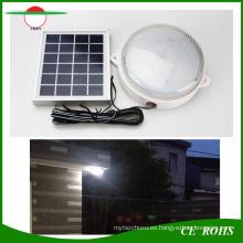 Tipo partido solar 9 LED luz de la pared al aire libre iluminación del jardín para interior pasillo alero lámpara de techo solar al aire libre Lámparas solares interiores