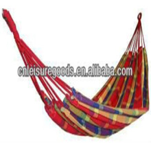 portable outdoor camping popular parachute striped hammock