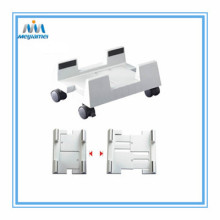 Adjustable plastik CPU berdiri Office Furniture Fitting