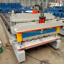 Aluminium galvanisierte Metalldachziegel-Rolle, die Maschine bildet