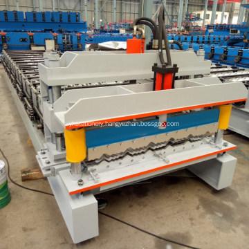 Aluminium Galvanized Metal Roof Tile Roll Forming Machine