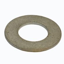 Rondelle plate ronde galvanisée