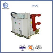Interruptor de vacío de 12KV 630A Vmd eléctrico de alto voltaje