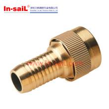 Conexões de tubos, acoplamento de latão, montagem de PPR, acessórios de latão, montagem de tubo