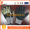 Cut Resistant Gloves Hppe Shell with Black Latex -TPR120