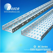 Hot dipped galvanized steel perforated cable tray with CE and UL