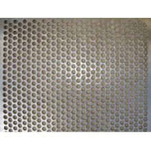 Malha perfurada galvanizada do metal do furo redondo