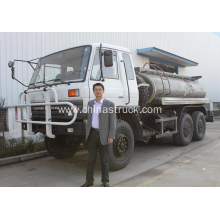 Dongfeng 6x6 water tank truck 8m3