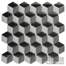 Grey diamond tiles for home decor