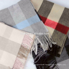 checked WOOL Scarf scarfs/mufflers