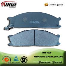 Semi-metallic brake pad for nissan pick up 1997-