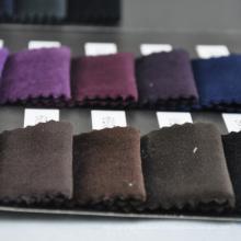 Variedad al por mayor de varios colores de la tela de terciopelo de algodón