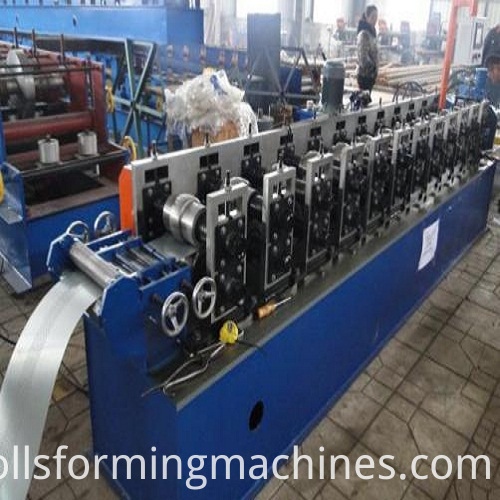 Shutter Door roll forming machine3