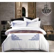 مجموعات الفراش 300tc القطن المصري 100%، زهرة أنيقة تصاميم السرير مطبوعة ورقة مجموعات، موك الصغيرة