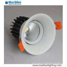 9W LED Deckeneinbauleuchte