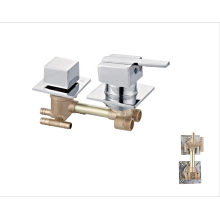 Factory price fine turning process bath water faucets  two body mixer valve tap shower faucet