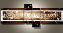yes frame handmade abstract paint for room decoration