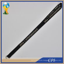 Custom Entertainment Black Lanyard for Advertising