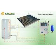 2014 Nuevo Tipo 100L Sistemas De Calefacción De Agua Solar Presurizada Para Uso Doméstico