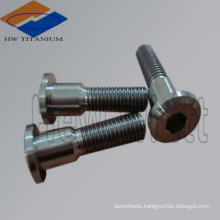 high strengh hot forged Titanium special bolt