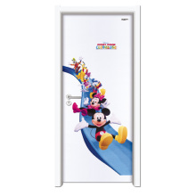 Interior Steel Wood Door Cheap Home Door, Cartoon Door