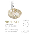 Bassin de salle de bain moderne en porcelaine