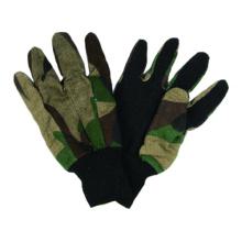 Camouflage Cotton Drill Garden Glove, Hunt Glove