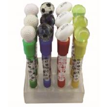 Neuheit-Kugelschreiber mit Licht