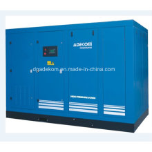 Compresores de aire de tornillo inyectados en inyección de aceite de dos etapas (KHP220-18)