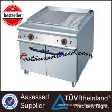 K008 Europe Design Plaque de cuisson commerciale d'équipement de cuisine