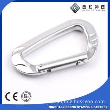 Aluminium Material custom D Shaped Carabiner