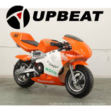 Upbeat 49cc Air Cooled Pull Start Mini Pocket Bike for Sale Cheap