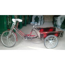 "Economic 24"" Three Wheel Luggage Tricycle (FP-TRCY032)"