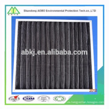 El carbón activado agrega el filtro de aire de la placa de las redes