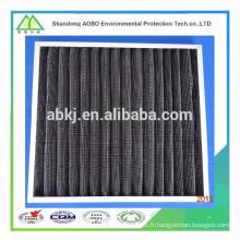 Filtre à air à plaques à charbon actif
