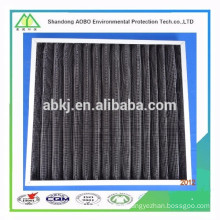 Activated carbon add nets plate air filter