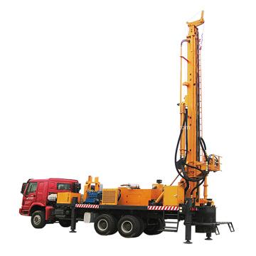 Plataforma de perforación de pozos de agua montada en camión Market 1500m
