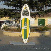 Clear Window Inflatable SUP Paddle Boards Tabla de surf transparente