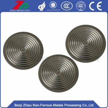 Metal capacitive pressure sensor with Tantalum Diaphragm